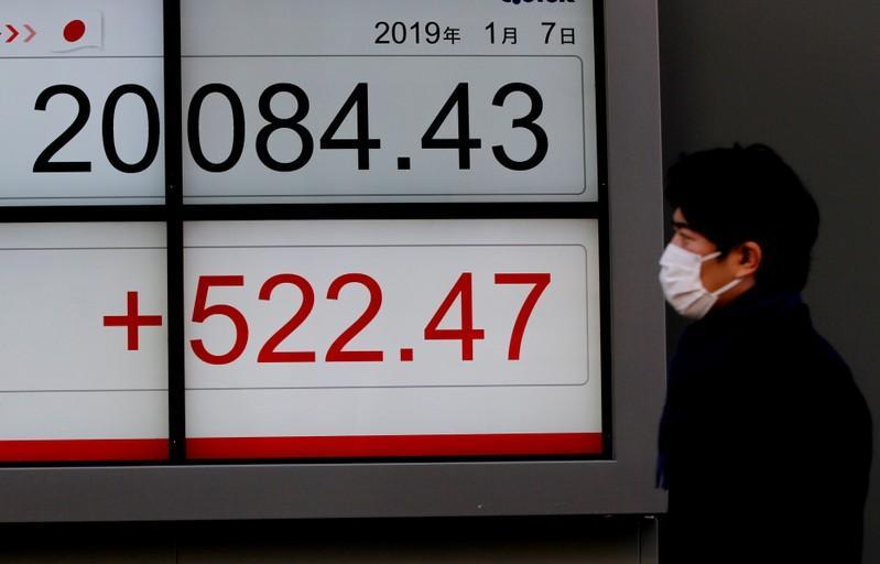 Global Markets: Asia stocks gain, euro struggles after dovish ECB