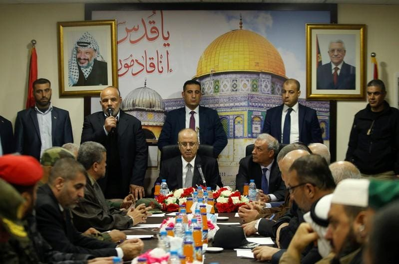 Palestinian prime minister, government resign