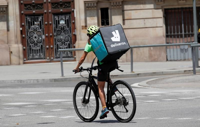 Amazon offers loan to Deliveroo amid UK probe  Bloomberg