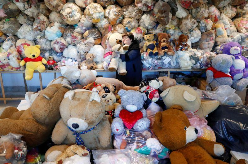 Wrapped in plastic no picnic for Hungarian teddy bears asleep in pandemic