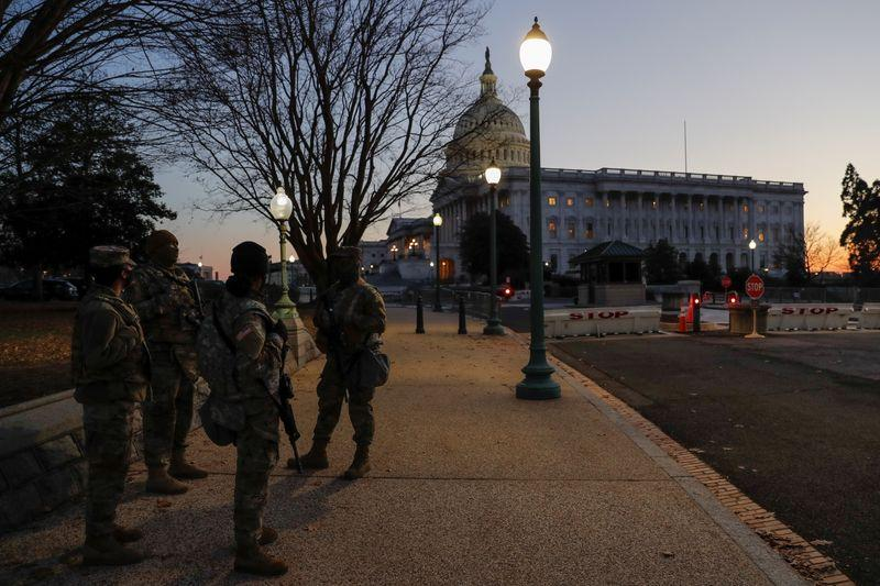US security forces probe threats ramp up to prevent repeat of Capitol mayhem