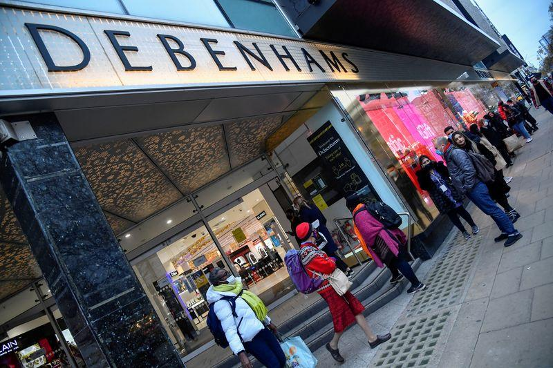 Britains Boohoo buys Debenhams brand while ASOS moves for Topshop