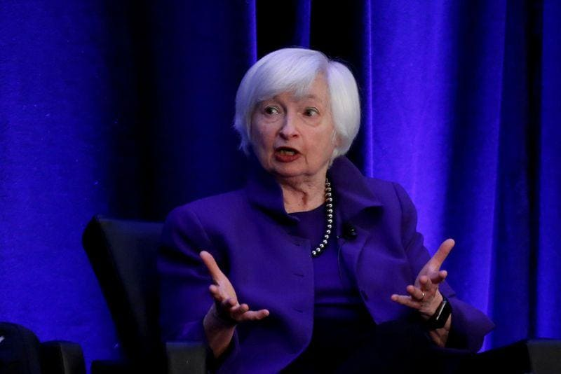 Yellen set for Senate confirmation vote as first woman Treasury secretary