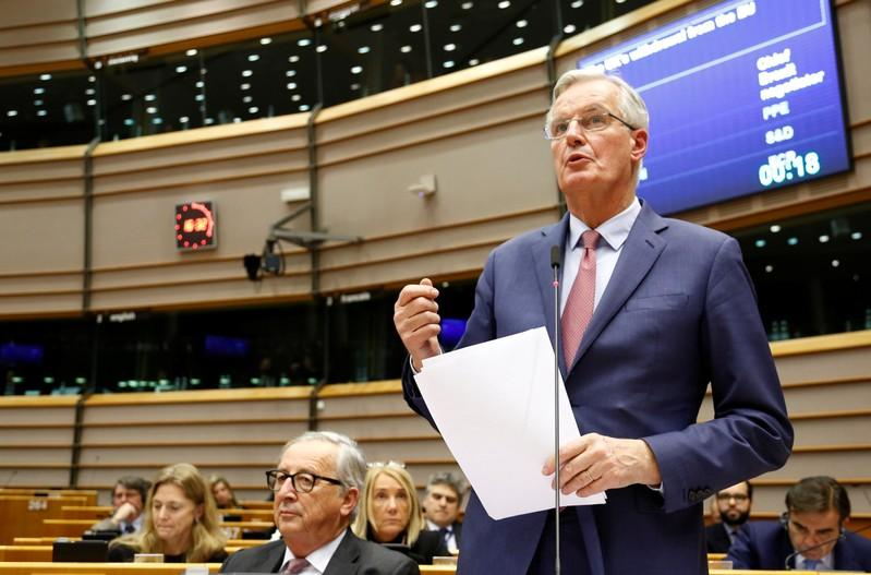 'Something has to give,' EU's Barnier tells Brexit Britain