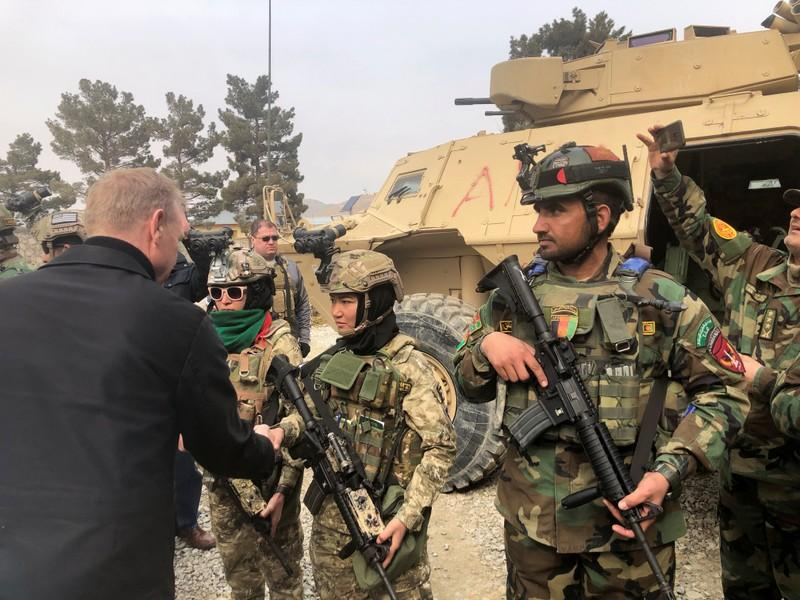 Acting Pentagon chief reassures Iraqis after anger over Trump remarks