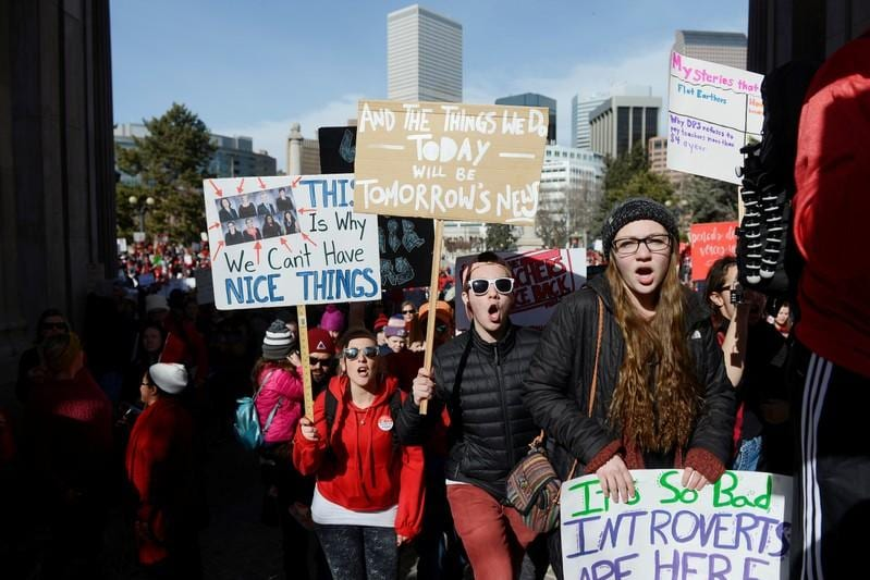 Talks to end threeday Denver teachers strike resume after progress reported