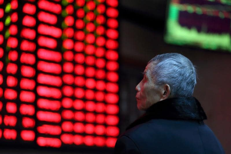 Asia stocks wait on Sino-US talks, China trade data