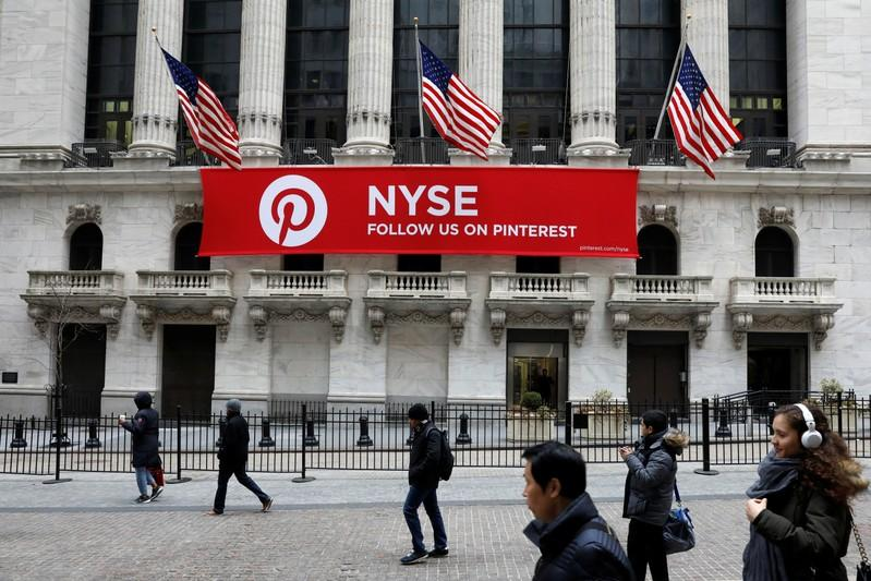 Pinterest confidentially files for IPO WSJ