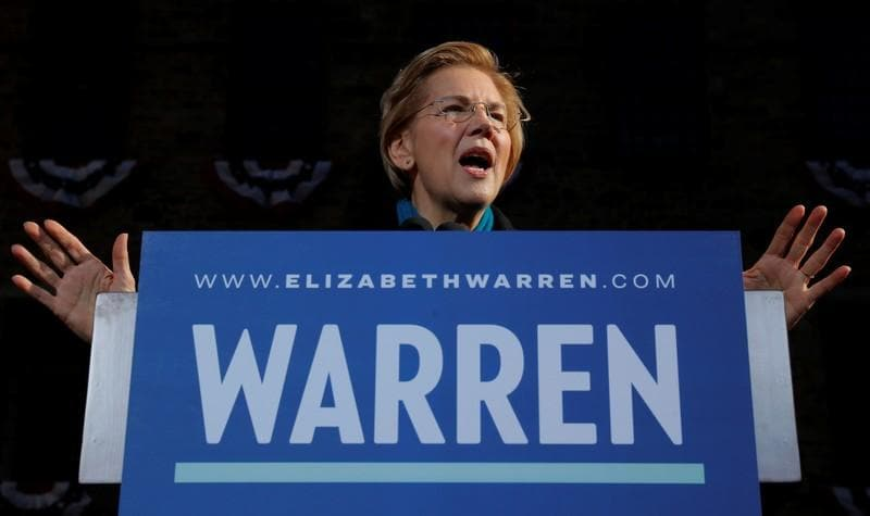 US Senator Elizabeth Warren backs reparations for black Americans
