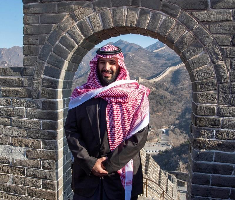 China sees enormous potential in Saudi economy as crown prince visits