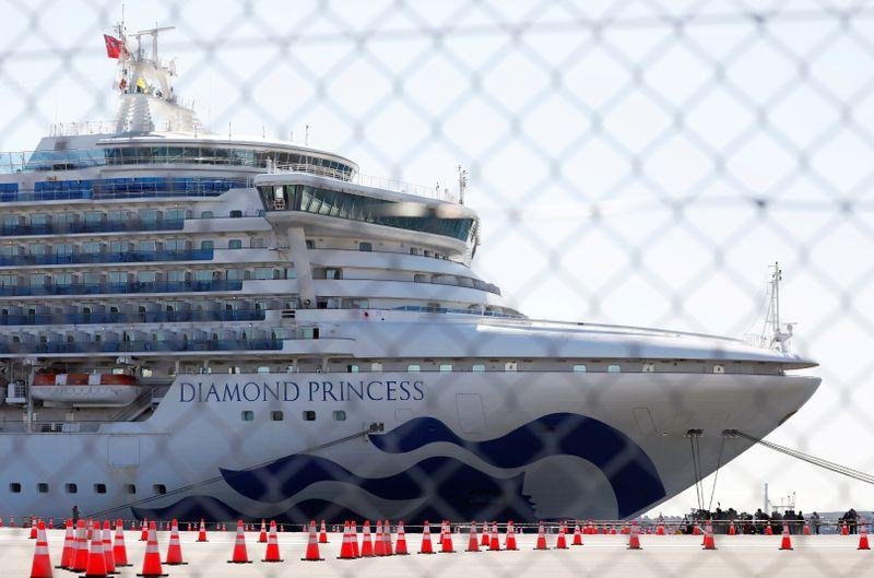 Japan targets HIV drug trials to fight coronavirus cruise ship evacuations continue