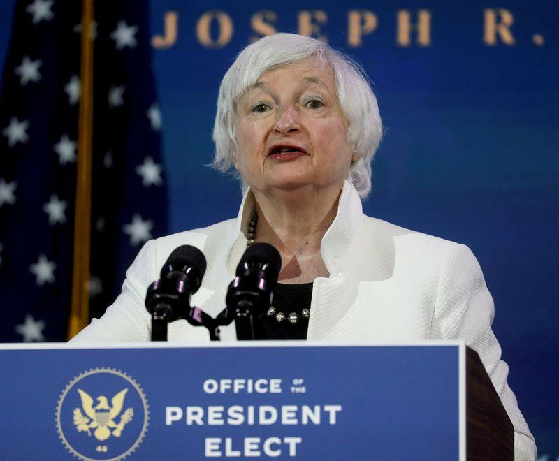US Treasurys Yellen Americans earning 60000 should get stimulus checks