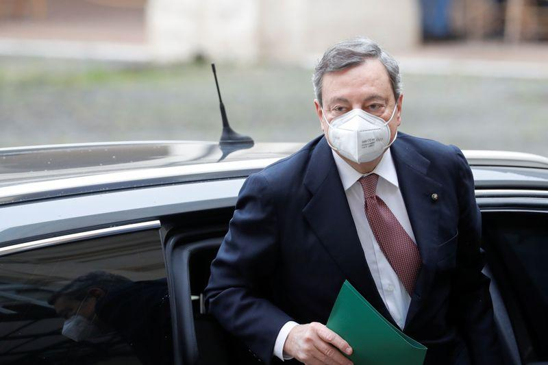 Italys Draghi takes office faces daunting challenges