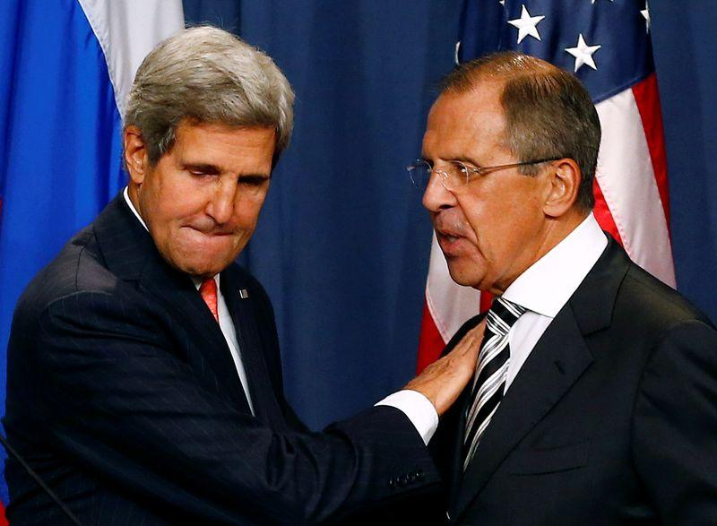Russias Lavrov holds climate talks with US envoy Kerry amid sanctions concerns
