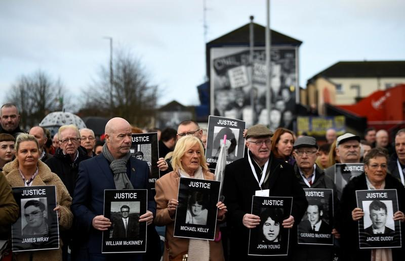 One British soldier to face murder charges over 1972 Bloody Sunday, reigniting controversy