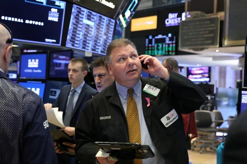 Tech shares, trade optimism push Wall Street higher