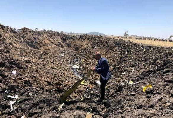 Ethiopian Airlines CEO sees clear similarities between crashed 737 MAX jets - Xinhua