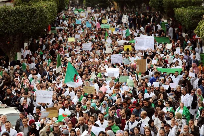 Anti-Bouteflika protests shake Algerias business community