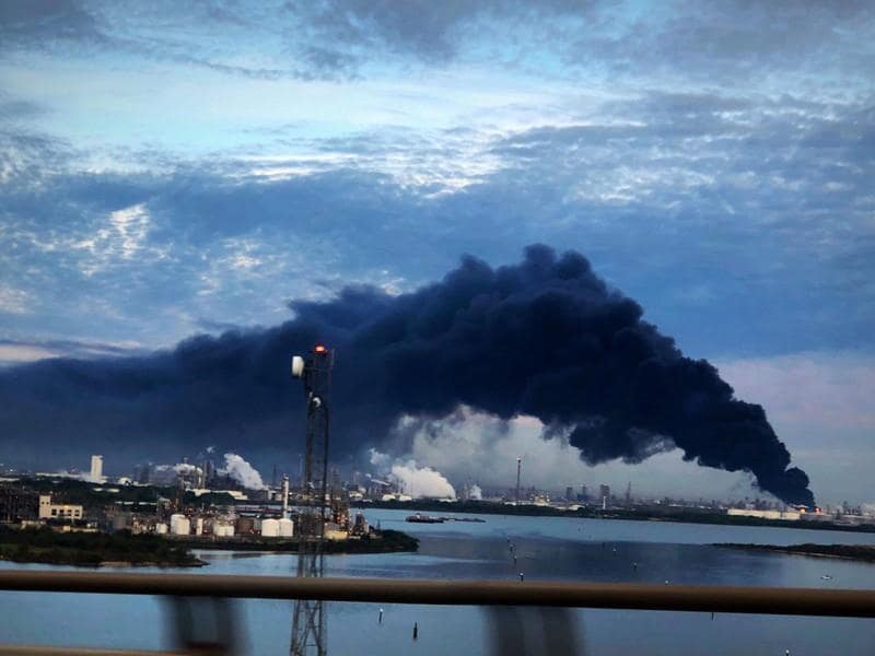 Houston petrochemical disaster stretches to sixth day, impacting key port
