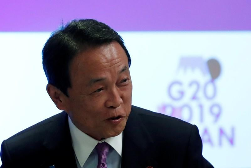 Japan finmin Aso: never said two percent price target could be scrapped