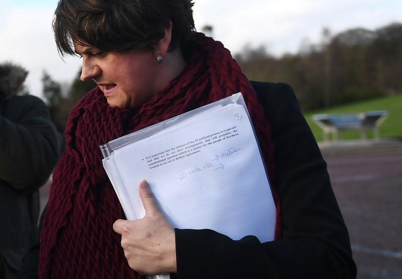 Northern Irish DUP says will not support UK PM Mays Brexit deal