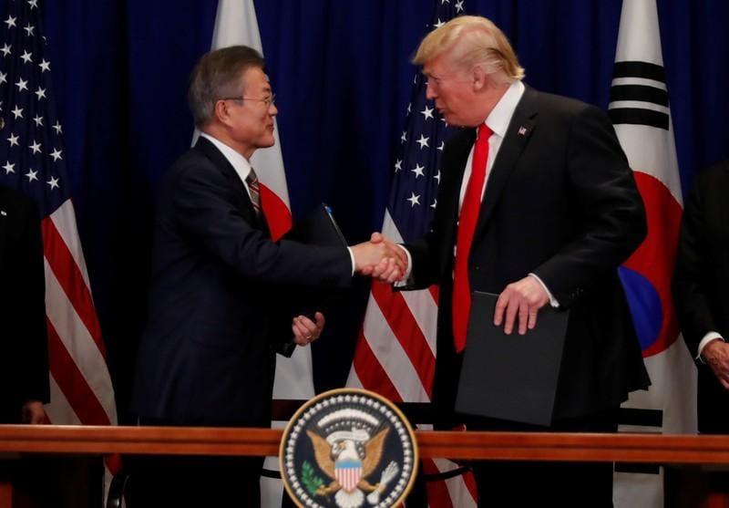 Trump, South Koreas Moon to meet on April 10 in Washington: Yonhap
