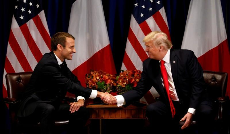 France's Macron visits Trump as Iran nuclear deal hangs in balance