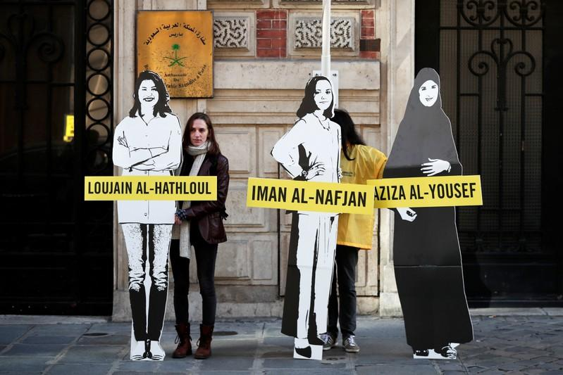 Saudi women activists back in court as West watches