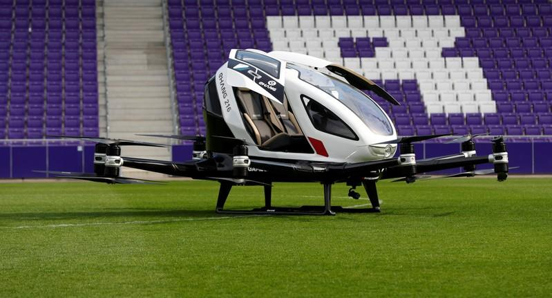 Pilot-less air taxi takes off in Vienna demonstration flight