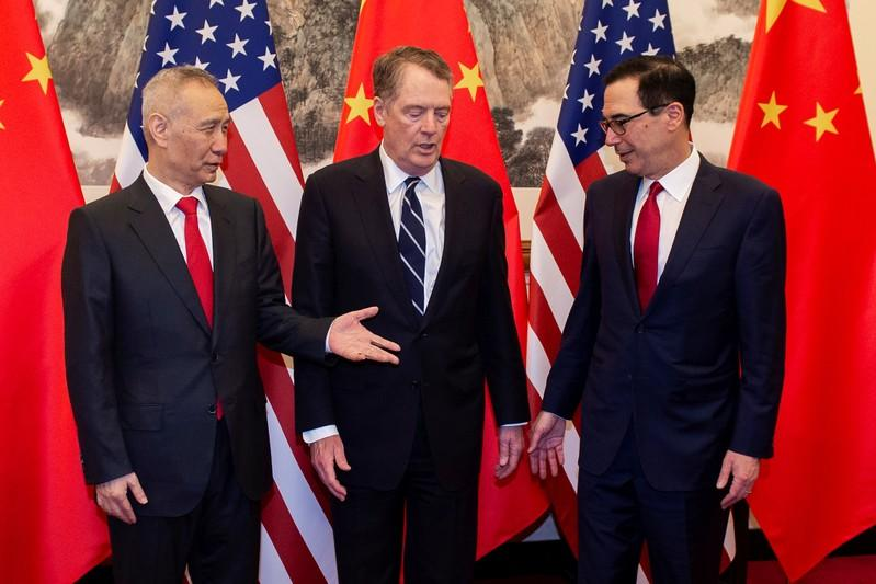 Trump says trade deal with China could be reached in about four weeks