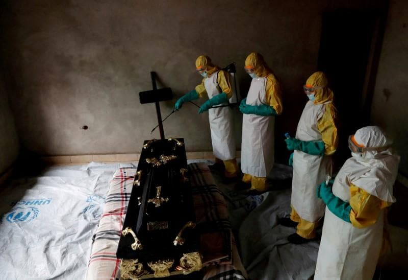 Congo Ebola outbreak far from contained, U.S. aid chief says