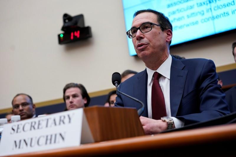 Trump not interested in holding debt ceiling increase hostage to fund wall: Mnuchin