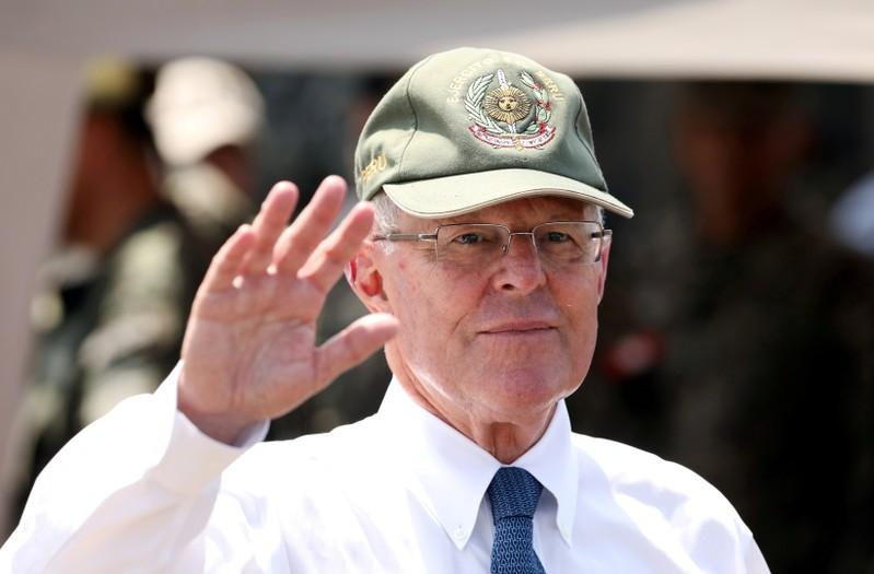 Corrected: Perus former president Kuczynski ordered to 10 days in jail