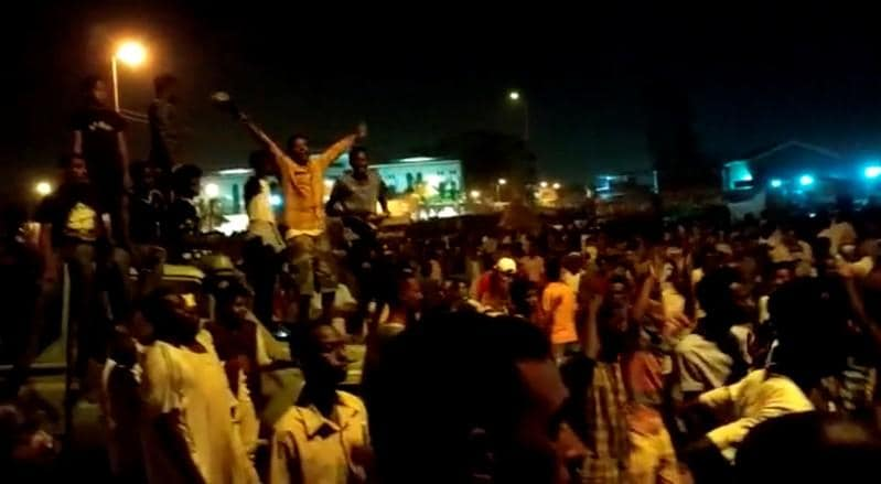 Eleven killed in Sudan protests including six state forces: government spokesman