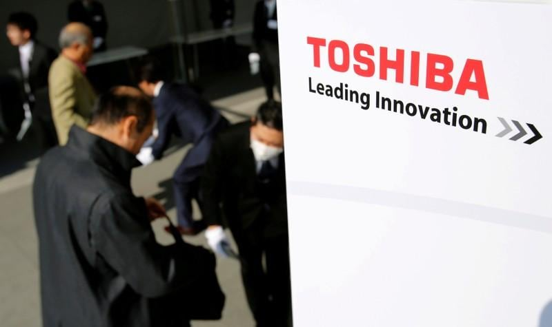 Toshiba shares fall after sale of U.S. LNG business cancelled