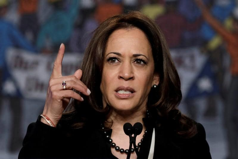 Democratic presidential candidate Kamala Harris releases 15 years of tax returns