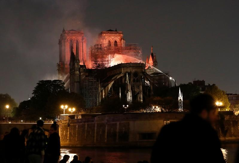 Americans, frequent visitors to Notre-Dame, begin fundraising efforts