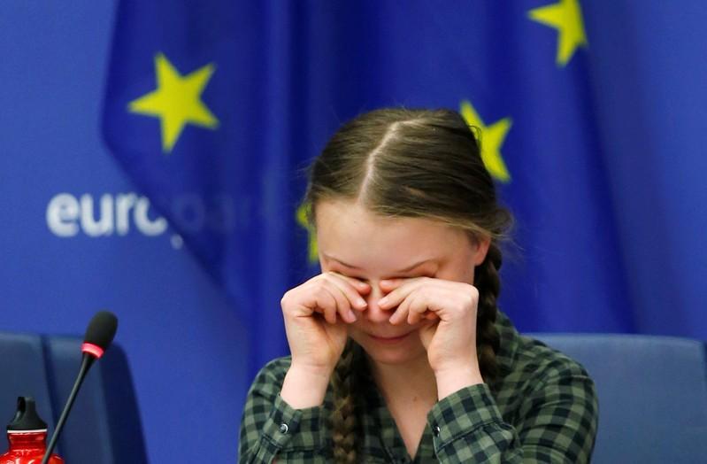 Save the world like Notre-Dame, says Swedish activist Thunberg