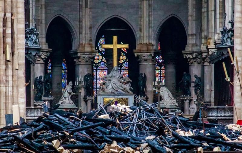 Old financing dispute hangs over Notre-Dame blaze donations
