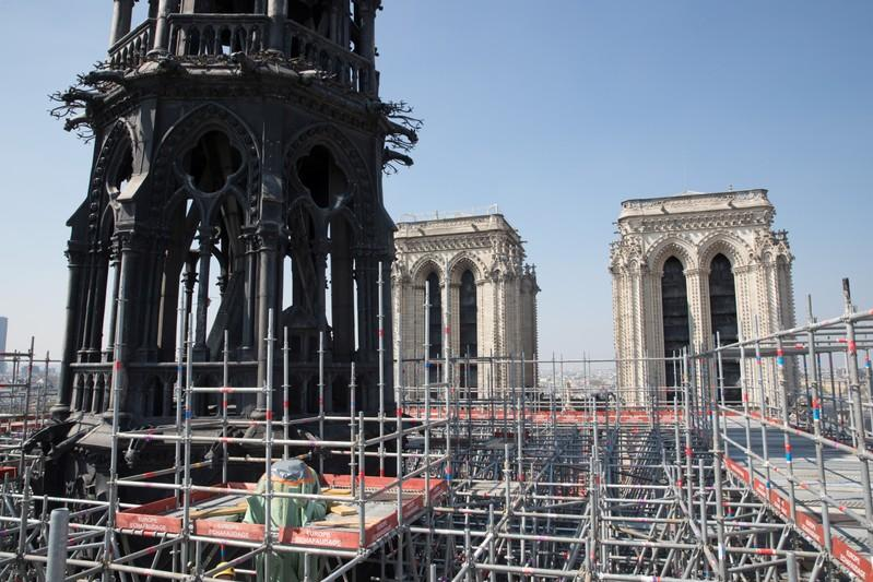 France asks: should Notre-Dames spire be rebuilt as it was?