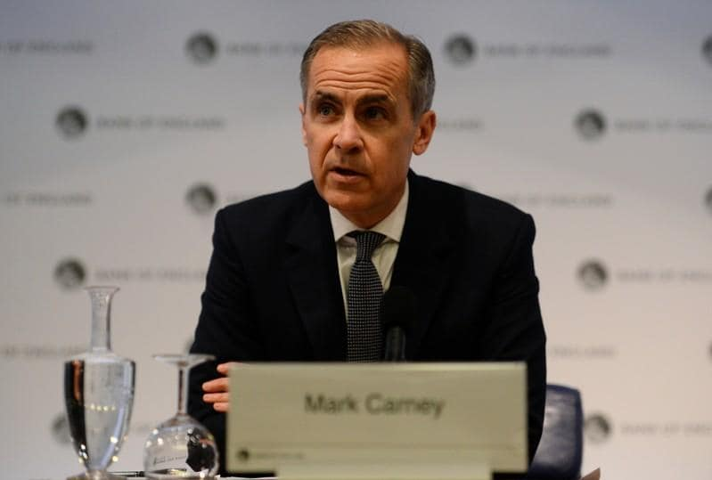 Who will succeed Carney to run Britains central bank?