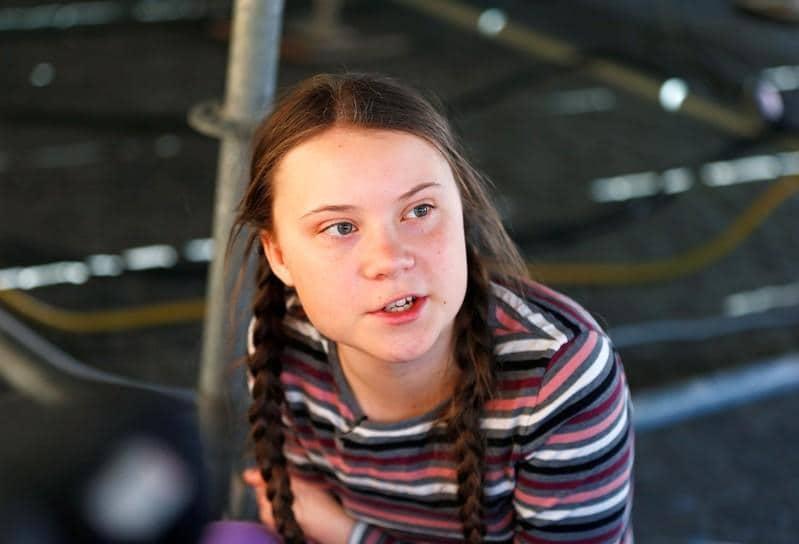 Swedish climate activist Thunberg admits she might be very naive