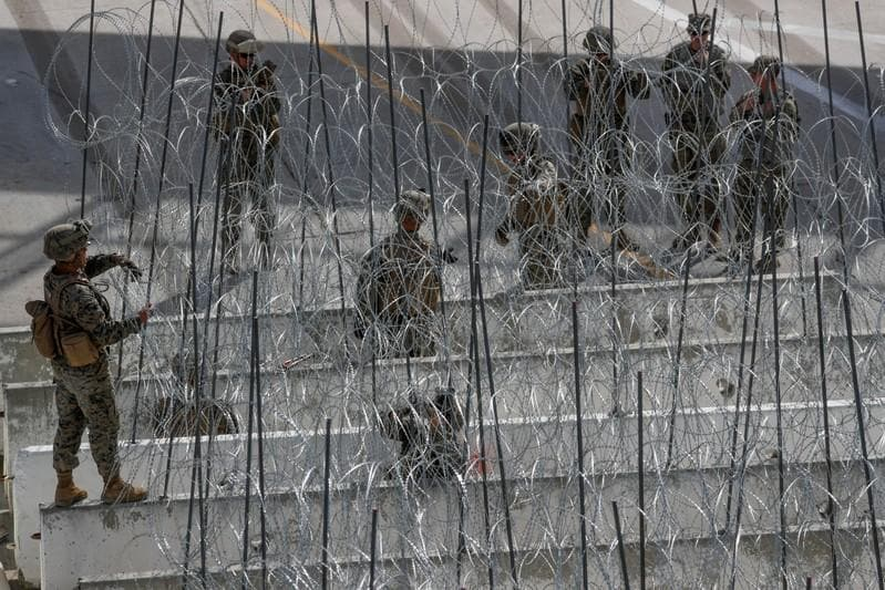 Trump renews threat to close Mexican border, send more troops