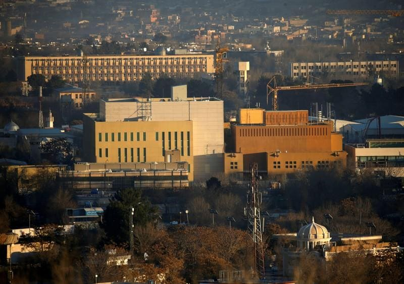 Corrected: U.S. accelerates plan to drastically downsize Kabul embassy - sources