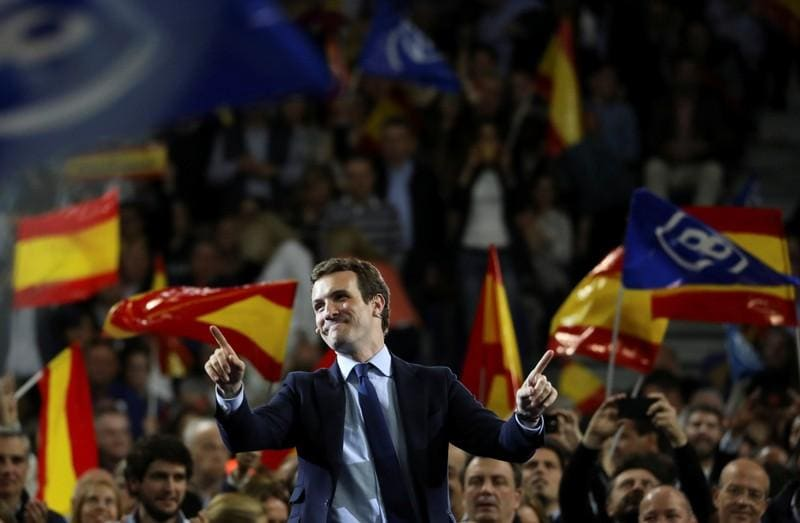 Prepare for power, Spains party leaders tell supporters as vote campaign ends