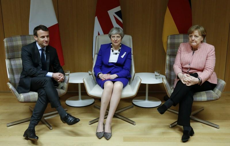 UK, France and Germany urge U.S. not to block others' from Iran deal