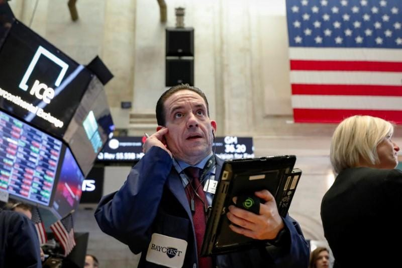 Wall St surges on higher oil after U.S. quits Iran deal