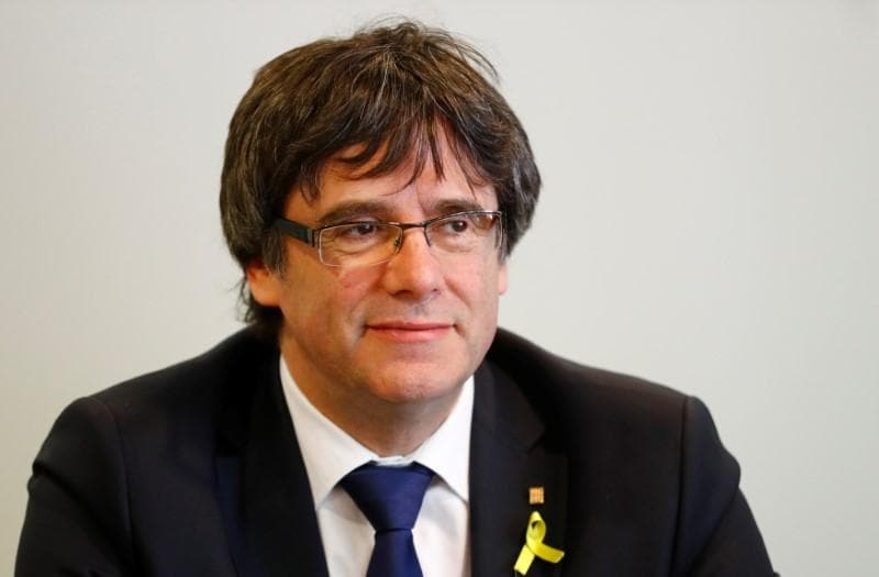 Ousted Catalan president Carles Puigdemont rejects his re-appointment as leader