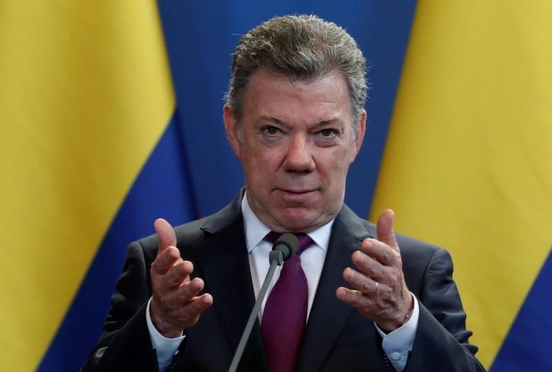 Colombia's Santos sees 'regime change' soon in Venezuela