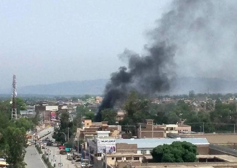 Multiple blasts and gun battle in eastern Afghan city